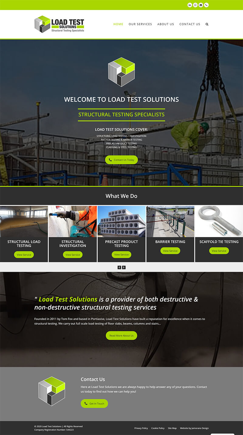 Load Test Solutions - loadtestsolutions.ie