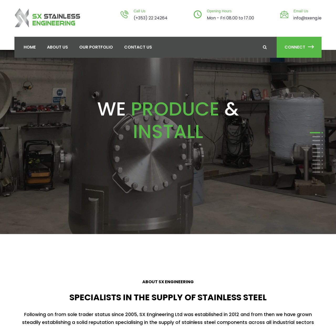 SX Engineering Ltd - Jamorano Design